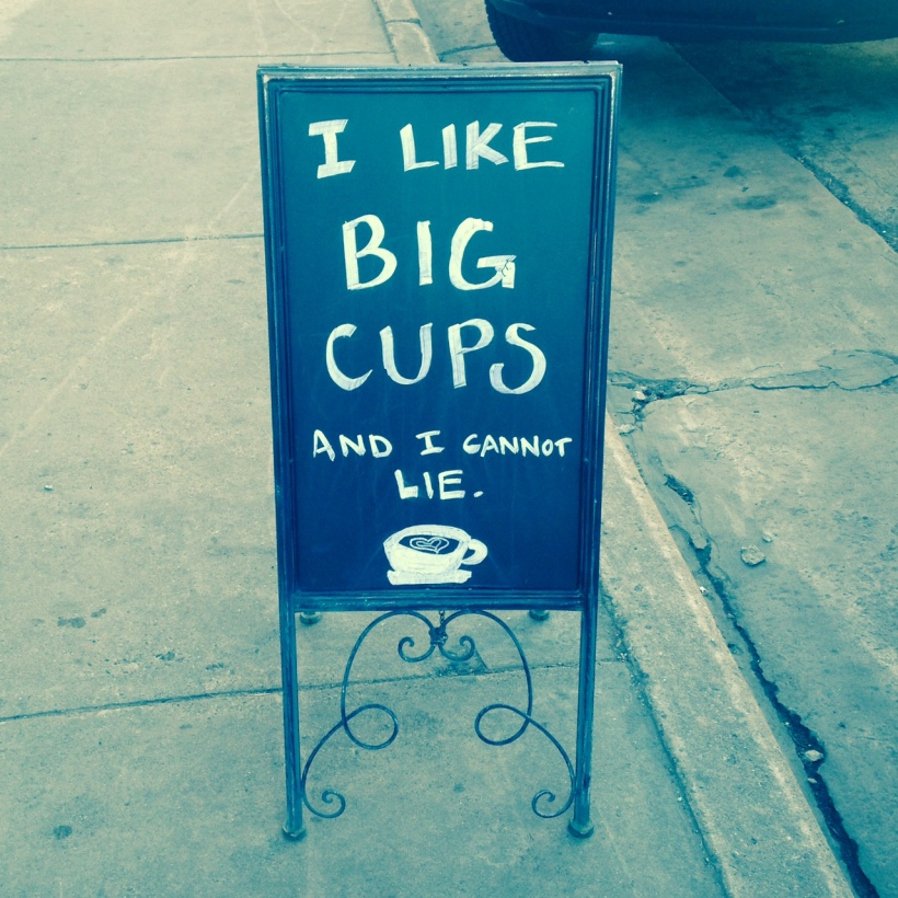 big-cups-sign
