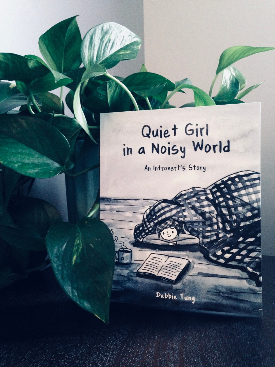 HSP Book Review: Quiet Girl in a Noisy World: An Introvert's Story by Debbie Tung